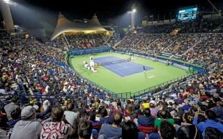 الصورة: تهلك: 1.5 مليار دولار قيمة التغطية الإعلامية لـ «تنس دبي»