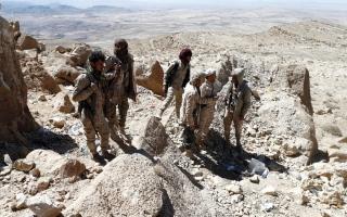 الصورة: الجيش اليمني يتقدم في محيط صنعاء ويسيطر على سلاسل جبلية