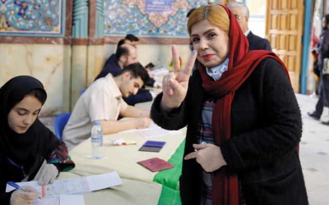 الصورة: المحافظون يسيطرون على البرلمان بعد فوزهم في الانتخابات الإيرانية