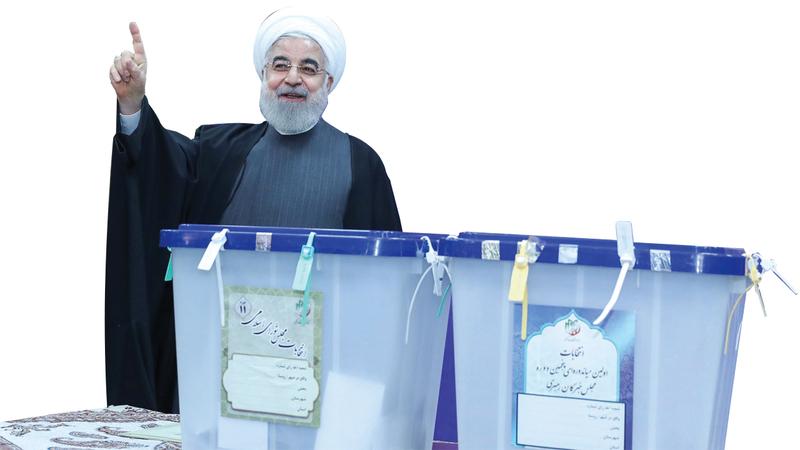 الرئيس حسن روحاني سيواجه فترة عصيبة بسبب سيادة المحافظين في البرلمان. إي.بي.إيه