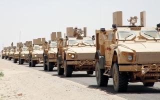 الصورة: الجيش اليمني يبدأ عملية عسكرية من الجوف ومأرب باتجاه صنعاء