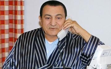 الصورة: تفاصيل الأيام الأخيرة قبل وفاة حسني مبارك