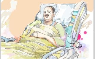 الصورة: فاعل خير يسدّد كلفة علاج «أبومحمد» من سرطان الدم