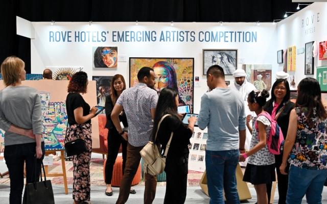 الصورة: «فنون العالم دبي» يحتضن مواهب واعدة