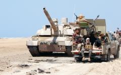 الصورة: الجيش اليمني يقصف خطوط إمـــداد الحوثيين بين صنعاء وصعدة