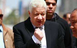 الصورة: أول رد من مرتضى منصور بعد عقوبة انسحاب الزمالك