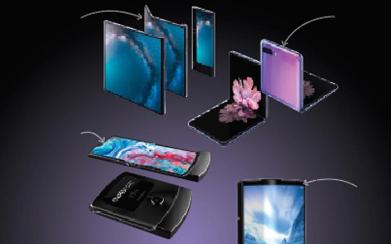 الصورة: إنفوغرافيك.. أبرز 7 أجهزة ذكية بشاشات قابلة للطي