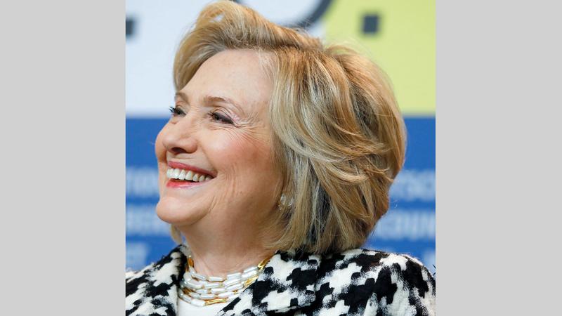 ادعاءات كلينتون لم تُسعفها في السباق الرئاسي.  أ.ب