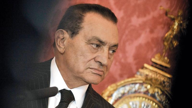 مبارك.. إرث مثير للجدل.  أ.ب