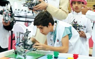الصورة: طلبة يطوّرون روبوتات للتغلب على مخاطر المناخ
