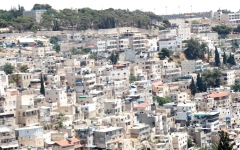 الصورة: 750 مقدسياً في حي بطن الهوى يواجهون نكبة تهجير جديدة