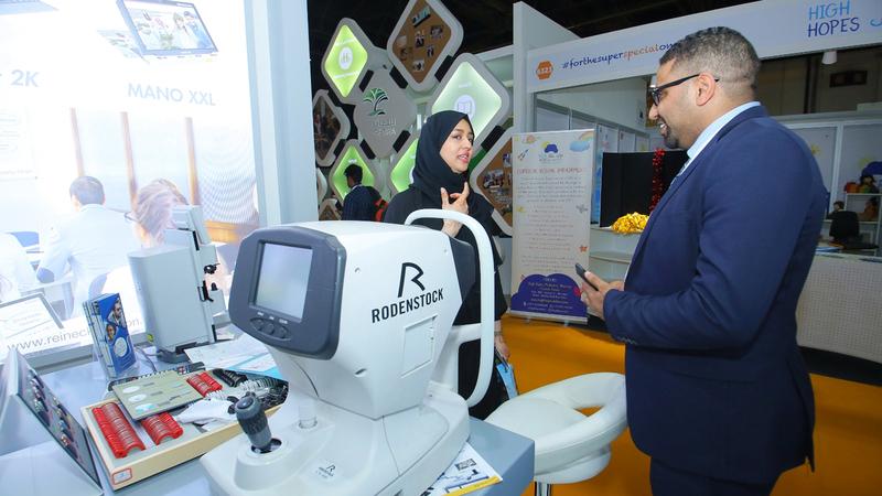 التكنولوجيا تسهم في تمكين 50 مليوناً من أصحاب الهمم في الشرق الأوسط.  من المصدر