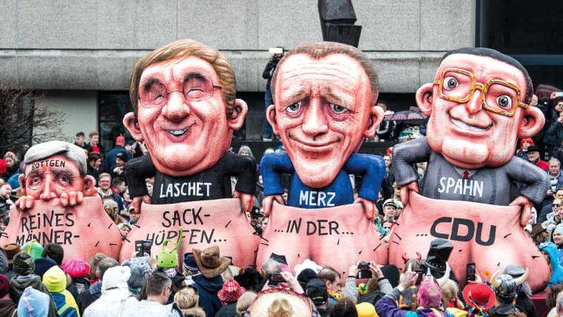 المحافظون الألمان أطلقوا سباقهم لمنصب المستشار. من المصدر
