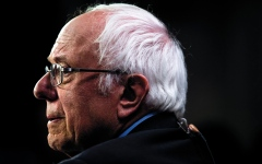 الصورة: ساندرز سيكون أول  رئيس يهودي لأميركا  صارم تجاه إسرائيل