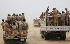 الصورة: معارك عنيفة بالجوف.. والجيش اليمني يتقدّم  في جبهات نهم صنعاء