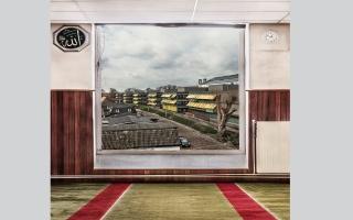 الصورة: بالصور.. الطبيعة من نوافذ مساجد في هولندا
