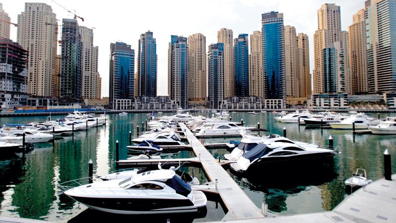 القرار يُطبق على الوسائل البحرية التي تُبحِر في مياه إمارة دبي. أرشيفية
