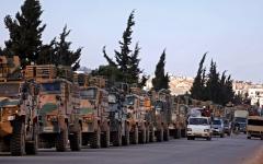 الصورة: سورية تغلق مجالها الجوي فوق إدلب وتؤكد عزمها التصدي لـ «العدوان التركي»