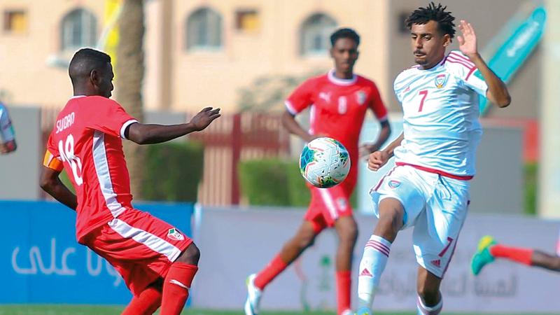 منتخب الشباب لم يحقق سوى فوز واحد في كأس العرب وكان على حساب السودان.   من المصدر