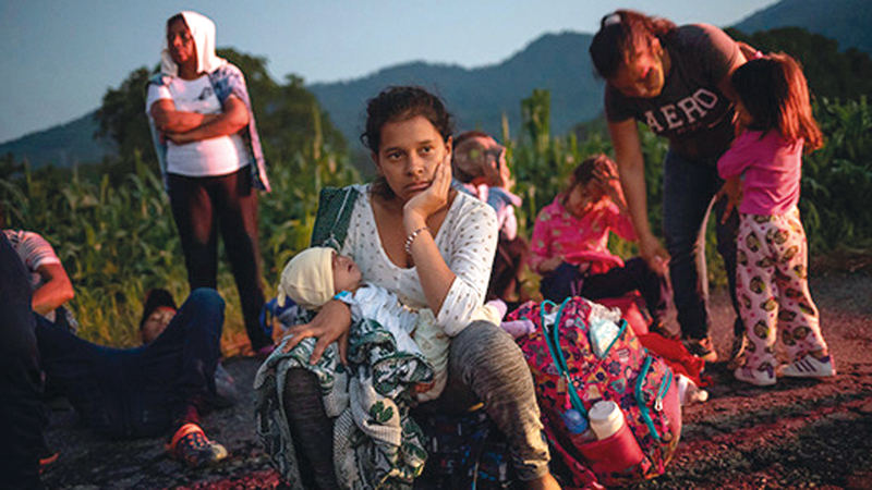 الخوف أحد الأسباب الرئيسة في الهجرة اللاتينية إلى أميركا. أرشيفية