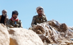 الصورة: «دعم الشرعية» يحبط عملاً إرهابياً استهدف ناقلة نفط في بحر العرب