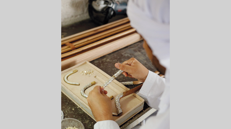 مشروع «أساطير» يتبع مجموعة المشاغل اليدوية في رخصة «تاجر». ■من المصدر