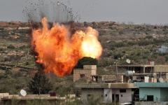 الصورة: مقتل 15 مدنياً في غارة روسية شمال غرب سورية
