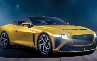 الصورة: «بنتلي» تُنتج 12 نسخة من أندر سياراتها الرياضية «باكالار»
