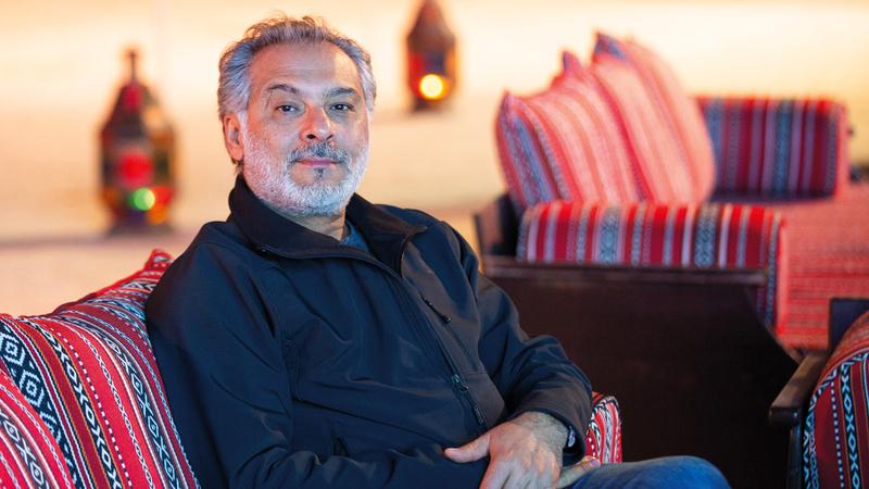 المخرج والممثل والكاتب السوري حاتم علي
