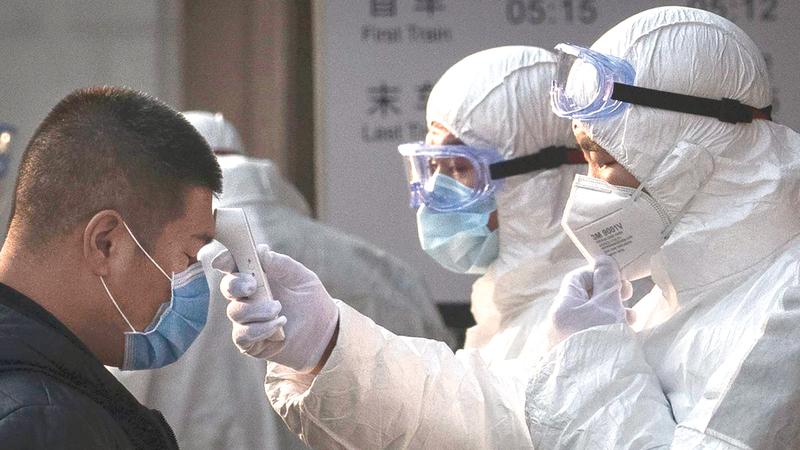 الكثير من الشركات الصينية والعالمية تضررت من تفشّي فيروس كورونا.  أرشيفية