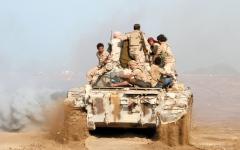 الصورة: الجيش اليمني يكبّد الميليشيات خسائر فادحة في جبهتي صنعاء والجوف