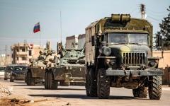الصورة: تركيا تواصل إرسال تعزيزات عسكرية إلى إدلب