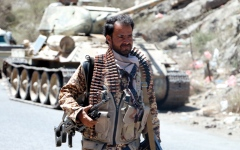 الصورة: القوات اليمنية تُفشل هجوماً حوثياً باتجاه اليتمة في الجوف