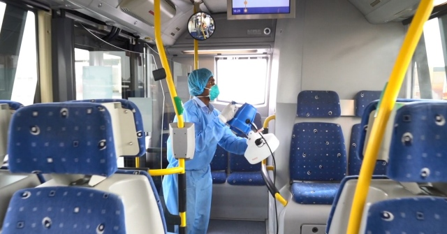 Video .. Daily sterilization and cleaning operations to ensure the ...