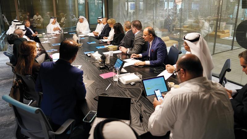 أجهزة حكومة دبي توفر كل الضمانات التي تكفل حماية المجتمع.  من المصدر