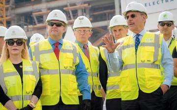 الصورة: تدشين عمليات البناء في الجناح الأميركي بــ «إكسبو 2020»