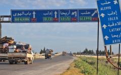 الصورة: بوتين وأردوغان يرحبان بـ «خفض التصعيد» في إدلب