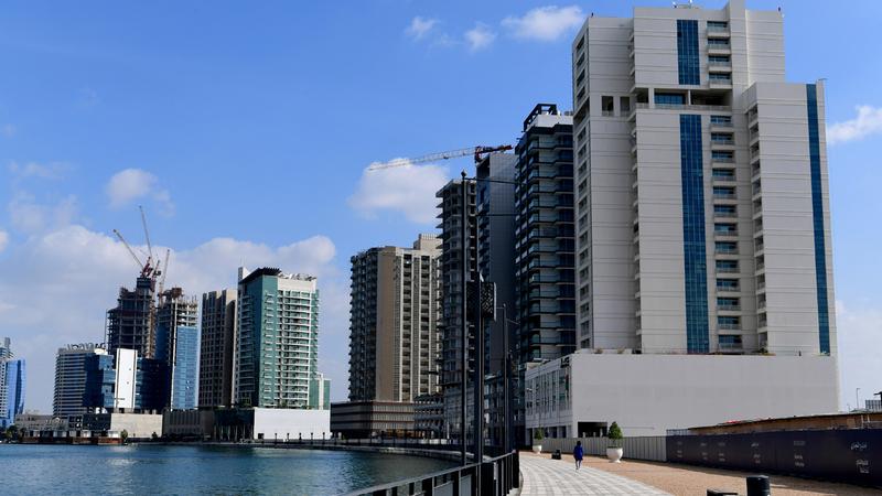 دبي تعتمد على منظومة عمل عقاري رقمية الأكثر تطوراً في العالم.  تصوير: باتريك كاستيلو