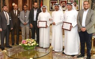 الصورة: جمارك دبي تحصد 3 جوائز من «آي سي إم جي» العالمية في تطوير الأعمال