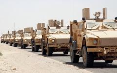 الصورة: «التحالف» يدمر زورقين مفخخين أطلقتهما ميليشيات الحوثي من الحديدة
