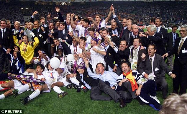 ريال مدريد توج بلقب دوري أبطال اوروبا عام 1998 على حساب يوفنتوس بعد 30 عام من الغياب