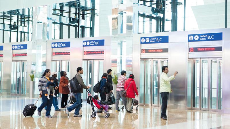 شركات الطيران في المنطقة اتخذت تدابير واسعة النطاق لخفض التكاليف. تصوير: أحمد عرديتي