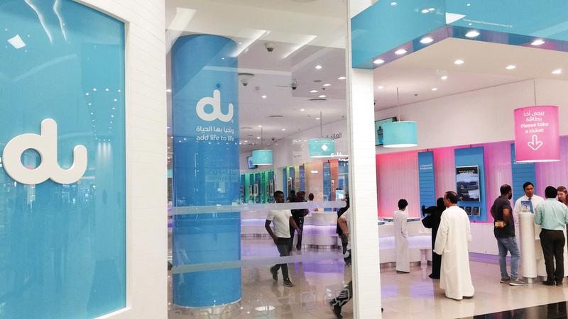 «دو» ستوفر خلال الفترة المقبلة خدمات مجانية لعملاء الاتصال المنزلي. تصوير: أحمد عرديتي