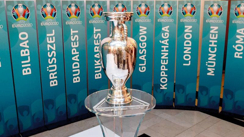 كأس أوروبا تأجلت حتى يونيو 2021. أ.ف.ب