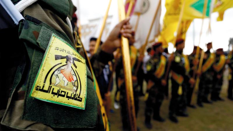 «حزب الله العراقي» سيظل أول المستهدفين من قِبَل الضربات الأميركية.  أرشيفية