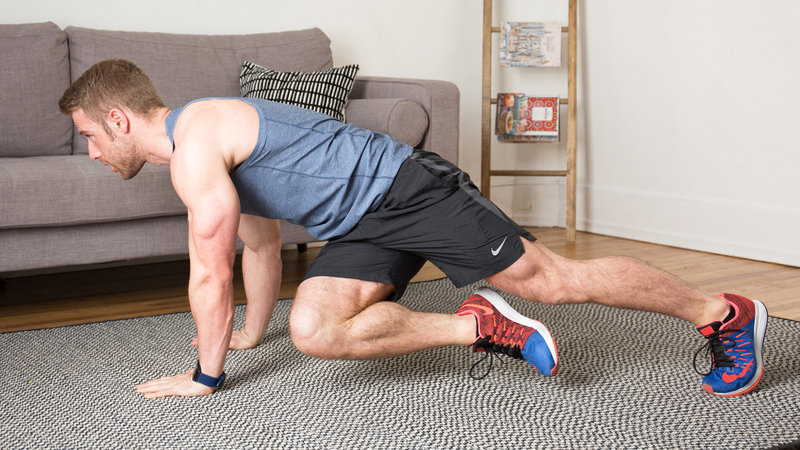 التدريبات المنزلية باتت ضرورية في الفترة الراهنة بسبب الحجر المنزلي. ■ من المصدر