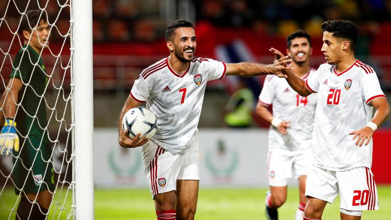 المنتخب مطالب بالفوز في كل مبارياته المقبلة.  الإمارات اليوم