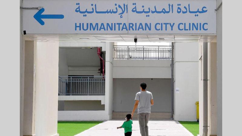 مدينة الإمارات الإنسانية استقبلت 215 شخصاً من رعايا دول شقيقة وصديقة. ■ من المصدر