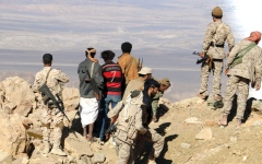 الصورة: مصرع أحد مؤسسي جماعة الحوثي وأسر 200 آخرين