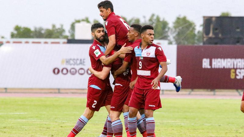 فريق الحمرية ينافس في دوري الدرجة الأولى. من المصدر